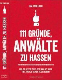 111 Gründe, Anwälte zu hassen, Schwarzkopf&Schwarzkopf 2014